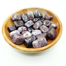 Load image into Gallery viewer, Lepidolite Tumbled Stone Extra Quality - Tumbled Stones