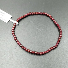 Load image into Gallery viewer, Garnet Bead Bracelet 4mm - Bracelet