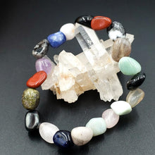 Load image into Gallery viewer, Multi Gemstone Nugget Bracelet - Elevated Metaphysical