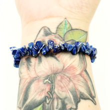 Load image into Gallery viewer, Lapis Lazuli Chip Bracelet - Elevated Metaphysical