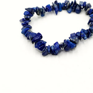 Lapis Lazuli Chip Bracelet - Elevated Metaphysical