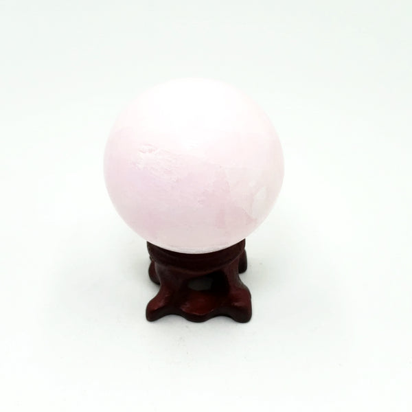 Pink Aragonite Sphere 48mm 144g - Spheres