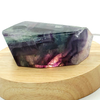 "Rainbow Fluorite Free-Form Crystal Stone 7oz 3"" - Crystal/Stone Decor"