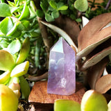 Aura Amethyst Tower Point 58mm 67g - Crystal/Stone Decor