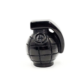 Black Obsidian Grenade Carving Figurine 310g 80mm - Figurine