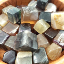 Load image into Gallery viewer, Yellow Fluorite Cube Tumbled Stone - Elevated Metaphysical