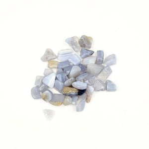 Blue Lace Agate Chips - Elevated Metaphysical