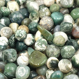 Moss Agate Chips - Elevated Metaphysical