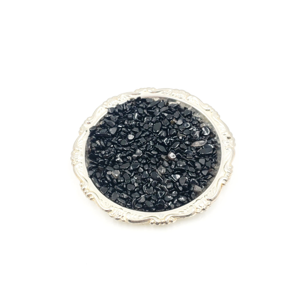 Black Obsidian Chips - Elevated Metaphysical