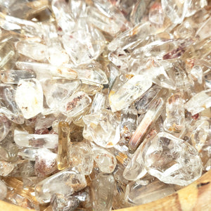 Red Hematoid Quartz Chips - Chips