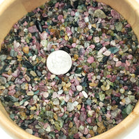 Watermelon Tourmaline Chips - Elevated Metaphysical