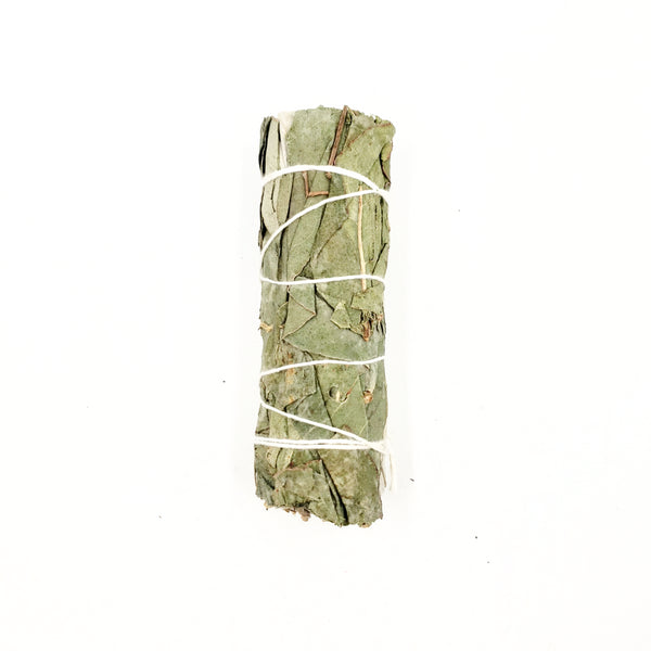 White Sage & Eucalyptus Smudge Wand Stick 4""