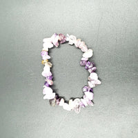 Amethyst Chip Bracelet - Elevated Metaphysical