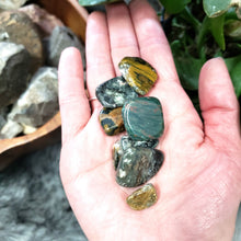 Load image into Gallery viewer, Ocean Jasper Tumbled Stone - Elevated Metaphysical