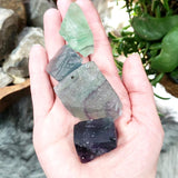 Rainbow Fluorite Rough Stone - Elevated Metaphysical