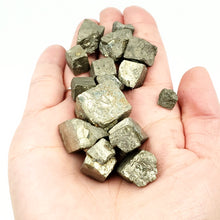 Load image into Gallery viewer, Pyrite Cube Rough Stone Small - Elevated Metaphysical