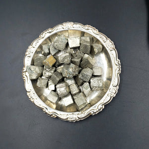 Pyrite Cube Rough Stone Small - Elevated Metaphysical