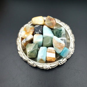 Caribbean Calcite Tumbled Stone - Elevated Metaphysical