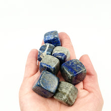 Load image into Gallery viewer, Lapis Lazuli Cube Tumbled Stone - Elevated Metaphysical
