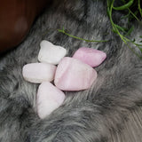 Pink Aragonite Tumbled Stone Large - Elevated Metaphysical