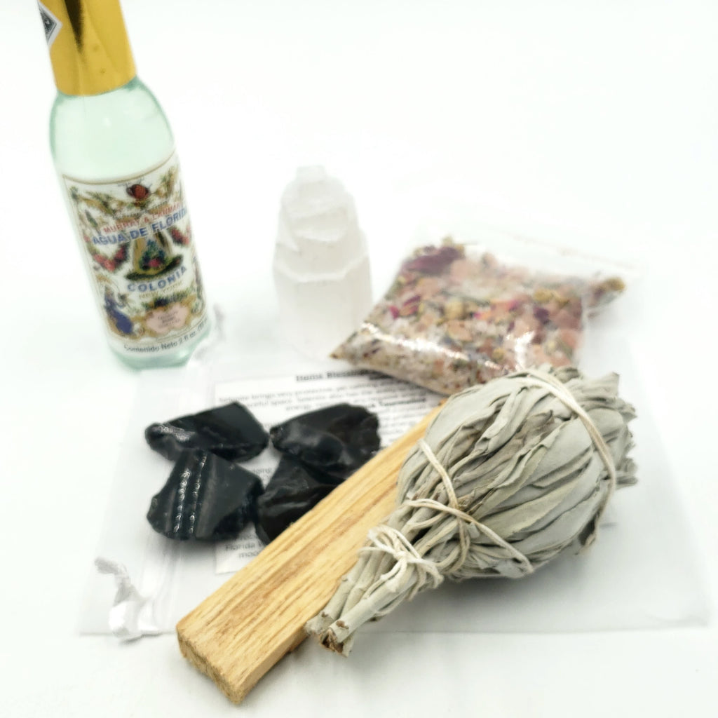 Home Blessings and Beyond - Stone & Smudge Set - Elevated Metaphysical