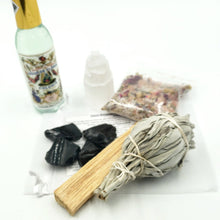 Load image into Gallery viewer, Home Blessings and Beyond - Stone & Smudge Set - Elevated Metaphysical