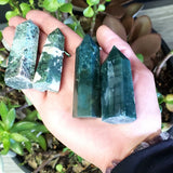 Moss Agate Tower - Elevated Metaphysical