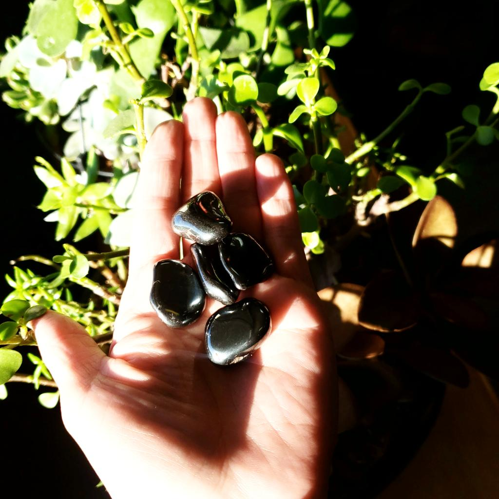 Hematite Tumbled Stone - Elevated Metaphysical