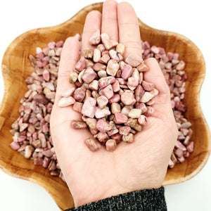 Rhodonite Chips - Elevated Metaphysical