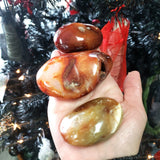 Carnelian Palm Stone Gallet - Elevated Metaphysical