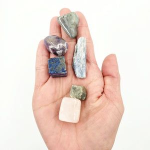 Coffee Doesn't Work, Let's Try Crystals - New Parent Stone Set - Elevated Metaphysical