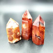 Load image into Gallery viewer, Carnelian Tower Point 75mm - Elevated Metaphysical