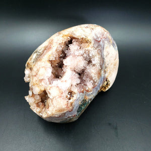Pink Amethyst Free Form Geode Polished 1kg 2.25lbs - Elevated Metaphysical