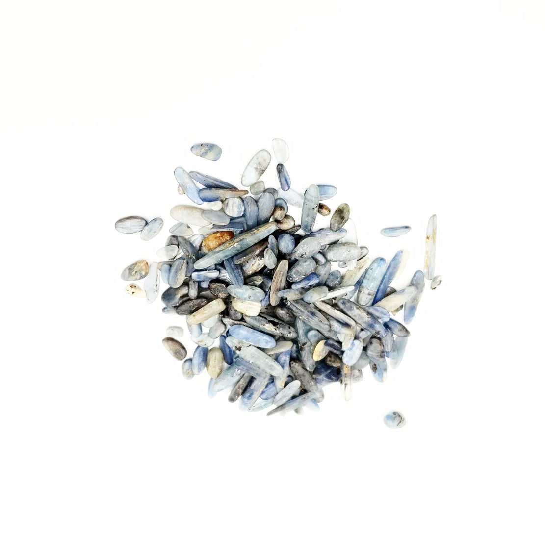 Blue Kyanite Chips - Elevated Metaphysical