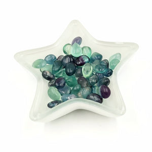 Rainbow Fluorite Tumbled Stone Small Pebble