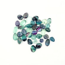 Load image into Gallery viewer, Rainbow Fluorite Tumbled Stone Small Pebble