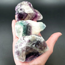 Load image into Gallery viewer, Rainbow Fluorite Specimen 1/2 Polished