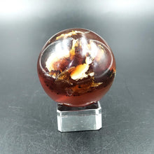 "Load image into Gallery viewer, Amber Sphere 2"" 51mm 2.5oz 72g - Elevated Metaphysical"