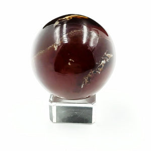 "Amber Sphere 2"" 51mm 2.5oz 72g - Elevated Metaphysical"