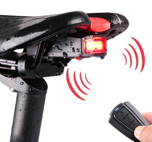GrabGuards: Bike Alarm System Tail Light