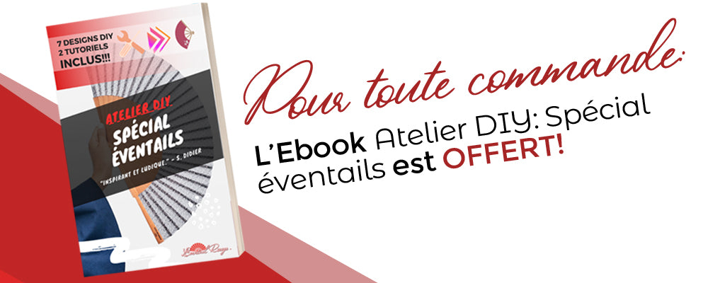 ebook offert DIY Eventails