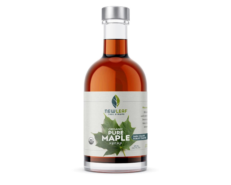 Pure Maple Syrup Dark Color Robust Taste