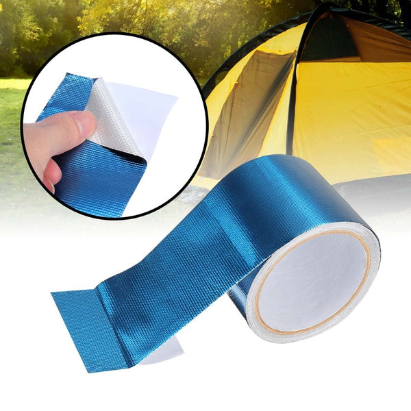 5M Self Adhesive Cloth Tape For Repairs Spinnakers Tents Resistant Tarpaulin Kites Repair Patch Stickers Camping Seal Accessorie
