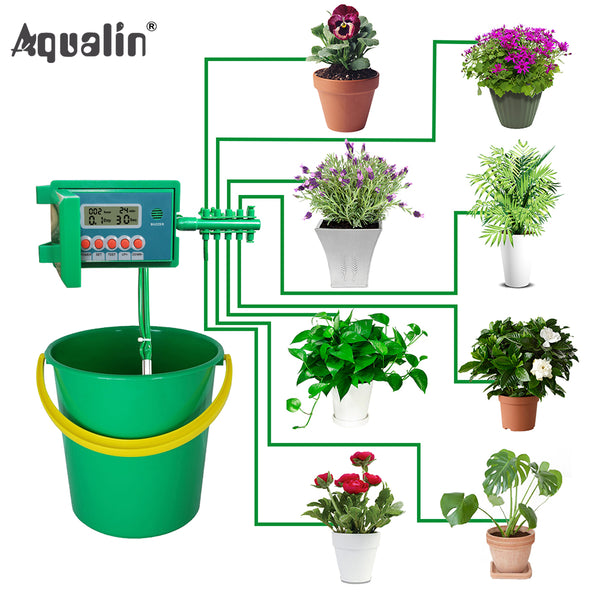 Automatic Micro Home  Drip Irrigation Watering Kit System Sprinkler with Smart Controller for Garden, or Indoor Use Sale Ends 11/17/2019