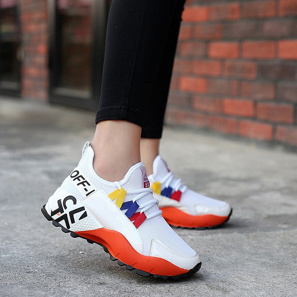 Fashion Low Cut Shoes Platforms Height Increasing Breathable Sneakers Women Shoes Casual Sports Shoes Woman