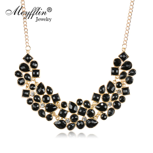 Fashion Statement Necklaces & Pendants for Women Collier Femme 2019 Vintage Maxi Necklace Collares Mujer Kolye Jewelry Bijoux