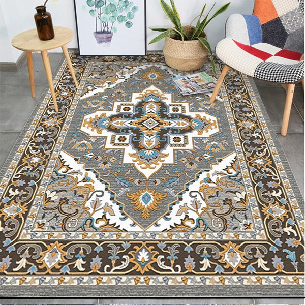 Geometric Rectangular Area Rugs Moroccan Style Carpets Living Room Floor