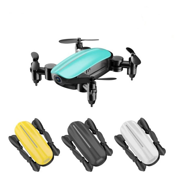 LAUMOX T10 RC Drone with 720P HD Camera Drone Collapsible WiFi FPV RC Quadcopter with Headless Height Retention Mode VS M69