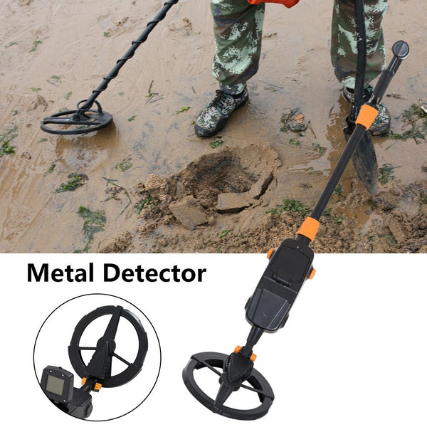 Metal Detectors Shovel For Adults Underground Metal Detector Sensitive Waterproof Metal Detector With LCD Gold Hunter Pinpointer