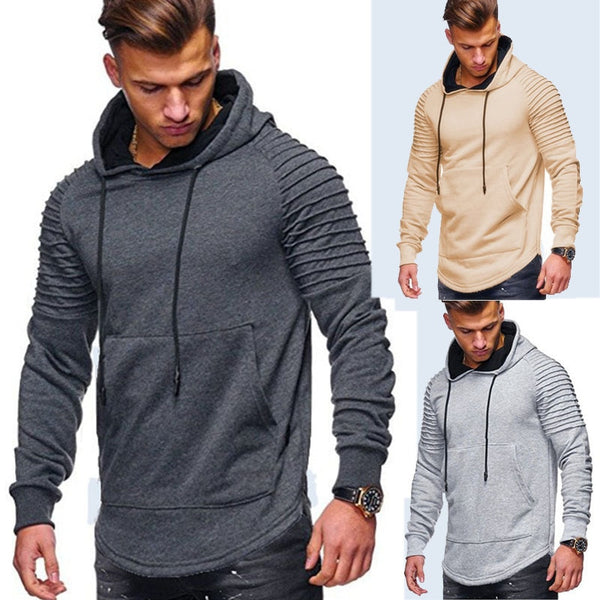ROUYHUAL New Men's Sweatshirt soft and warm